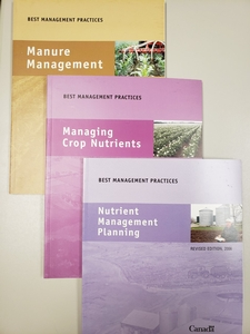 Set of 3 BMP Books + additional course resources for Nutrient Management students