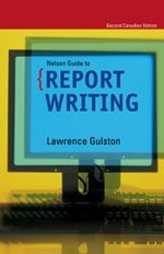 Thomson Nelson Guide to Report Writing