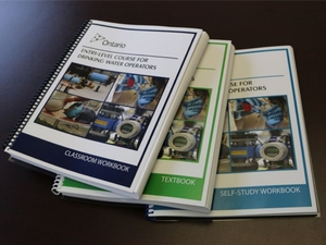 Entry-Level Drinking Water Operator Course Manuals