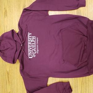 Screened Hooded Sweatshirt